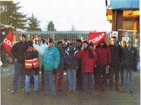 Lo sciopero dei camionisti ARCESE di Gerbole ha vinto