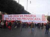 Centinaia di migliaia in piazza contro l'arroganza padronale e governativa