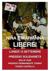 Libertà per Nina e Marianna - Libertà per la Val di Susa